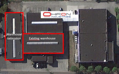 Ohron doubles its warehouse capacity in Europe
